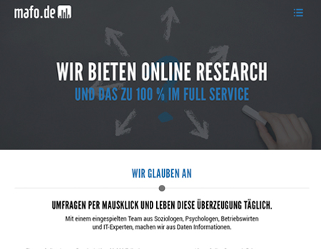 mafo, online research, grafikdesign, corporate design