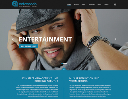 Webdesign actmondo